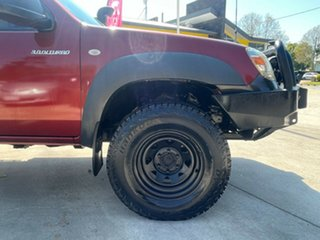 2009 Mazda BT-50 UNY0E4 DX Red 5 Speed Manual Cab Chassis