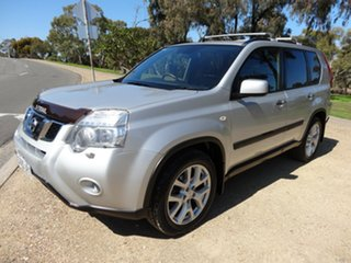 2011 Nissan X-Trail T31 Series IV TI Silver 1 Speed Constant Variable Wagon.