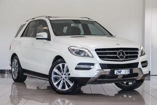2013 Mercedes-Benz M-Class W166 ML350 BlueEFFICIENCY 7G-Tronic + Diamond White 7 Speed.