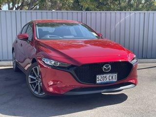 2021 Mazda 3 BP2HLA G25 SKYACTIV-Drive GT Soul Red Crystal 6 Speed Sports Automatic Hatchback.