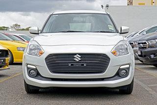 2021 Suzuki Swift AZ Series II GL Navigator White 1 Speed Constant Variable Hatchback.