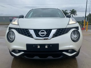 2015 Nissan Juke F15 Series 2 Ti-S X-tronic AWD White/130716 1 Speed Constant Variable Hatchback