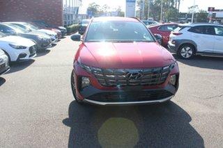 2021 Hyundai Tucson NX4.V1 MY22 Elite 2WD N Line Crimson Red 6 Speed Automatic Wagon.