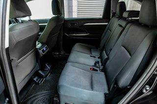 2016 Toyota Kluger GSU50R GX 2WD Black 8 Speed Sports Automatic Wagon