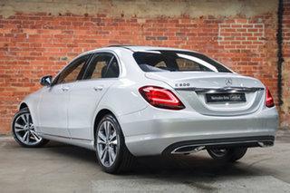 2020 Mercedes-Benz C-Class W205 800+050MY C200 9G-Tronic Iridium Silver 9 Speed Sports Automatic.