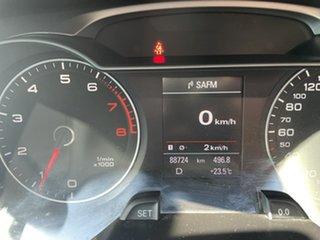 2013 Audi A4 B8 8K MY13 Multitronic White 8 Speed Constant Variable Sedan