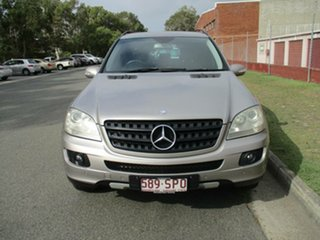 2006 Mercedes-Benz M-Class W164 ML350 Silver 7 Speed Sports Automatic Wagon.