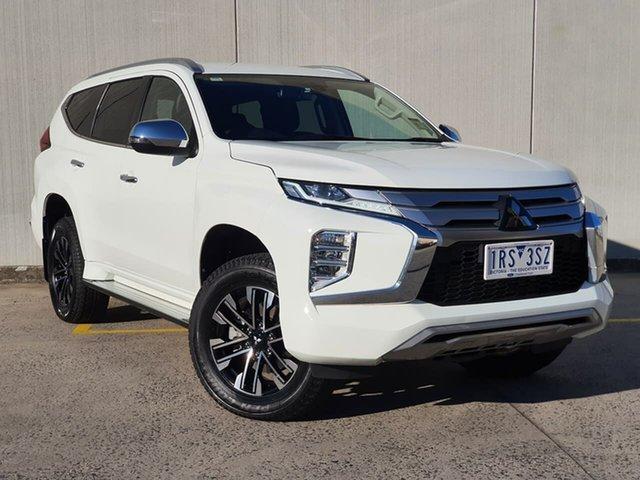 Used Mitsubishi Pajero Sport QF MY20 GLS Oakleigh, 2020 Mitsubishi Pajero Sport QF MY20 GLS White 8 Speed Sports Automatic Wagon