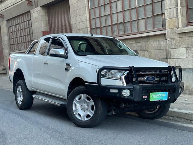 Used Ford Ranger PX MkII 2018.00MY XLT Super Cab Cheltenham, 2018 Ford Ranger PX MkII 2018.00MY XLT Super Cab White 6 Speed Sports Automatic Utility