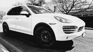 2011 Porsche Cayenne Series 2 MY12 Diesel White 8 Speed Automatic Tiptronic Wagon.