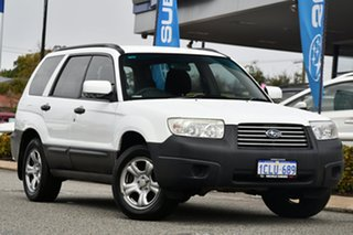 2007 Subaru Forester 79V MY07 X AWD Pure White 4 Speed Automatic Wagon.