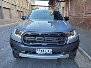 2018 Ford Ranger PX MkIII 2019.00MY Raptor Conquer Grey 10 Speed Sports Automatic Utility.