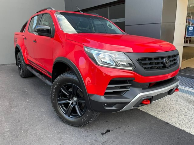 Used Holden Special Vehicles Colorado RG MY18 SportsCat Pickup Crew Cab Moonah, 2018 Holden Special Vehicles Colorado RG MY18 SportsCat Pickup Crew Cab Red 6 Speed Sports Automatic