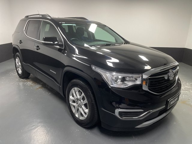 Used Holden Acadia AC MY19 LT 2WD Rutherford, 2019 Holden Acadia AC MY19 LT 2WD Black 9 Speed Sports Automatic Wagon