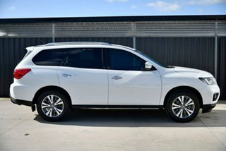 2019 Nissan Pathfinder R52 Series III MY19 ST X-tronic 2WD White 1 Speed Constant Variable Wagon