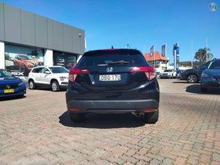 2015 Honda HR-V MY15 VTi-L Crystal Black 1 Speed Constant Variable Hatchback.