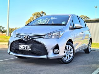 2015 Toyota Yaris NCP131R SX Silver 4 Speed Automatic Hatchback