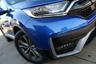 2021 Honda CR-V RW MY21 VTi 4WD LX AWD Brilliant Sporty Blue 1 Speed Constant Variable Wagon.