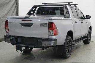 2018 Toyota Hilux GUN126R Rogue Double Cab Silver 6 Speed Sports Automatic Utility