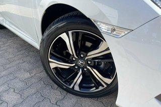 2017 Honda Civic MY17 RS White Continuous Variable Sedan.