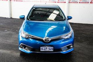 2016 Toyota Corolla ZRE182R MY15 Ascent Sport Blue Gem 6 Speed Manual Hatchback.