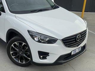 2015 Mazda CX-5 KE1022 Akera SKYACTIV-Drive AWD Crystal White Pearl 6 Speed Sports Automatic Wagon.
