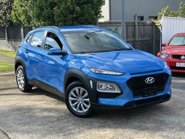 Used Hyundai Kona OS.3 MY20 Go 2WD Chermside, 2019 Hyundai Kona OS.3 MY20 Go 2WD Blue 6 Speed Sports Automatic Wagon
