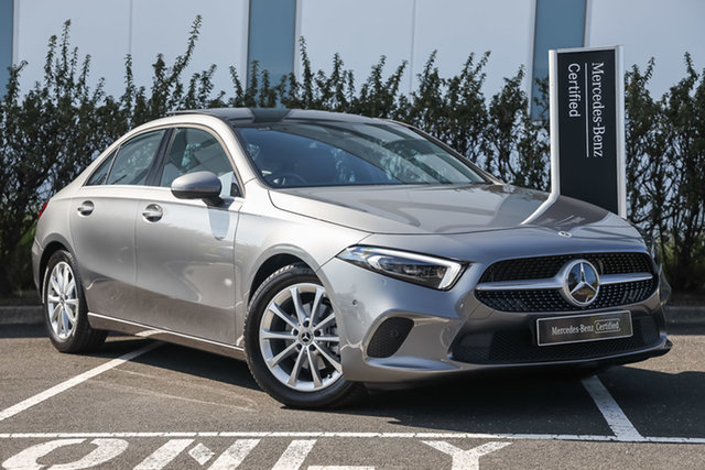 Certified Pre-Owned Mercedes-Benz A-Class V177 801+051MY A180 DCT Mulgrave, 2021 Mercedes-Benz A-Class V177 801+051MY A180 DCT Mountain Grey 7 Speed