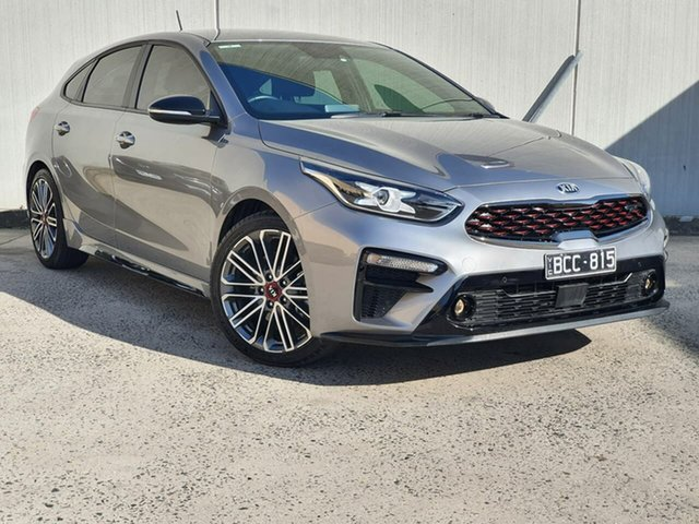 Used Kia Cerato BD MY19 GT DCT Oakleigh, 2019 Kia Cerato BD MY19 GT DCT Grey 7 Speed Sports Automatic Dual Clutch Hatchback