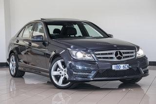 2014 Mercedes-Benz C-Class W204 MY14 C250 CDI 7G-Tronic + Avantgarde Tenorite Grey 7 Speed.