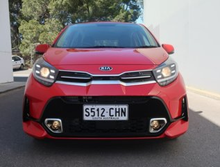 2020 Kia Picanto JA MY21 GT Red 5 Speed Manual Hatchback