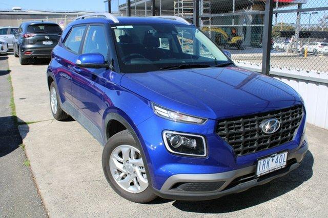 Used Hyundai Venue QX MY20 Active Ferntree Gully, 2020 Hyundai Venue QX MY20 Active Blue 6 Speed Automatic Wagon