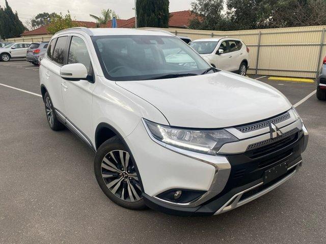 Used Mitsubishi Outlander ZL MY19 LS AWD Hillcrest, 2018 Mitsubishi Outlander ZL MY19 LS AWD White 6 Speed Sports Automatic Wagon