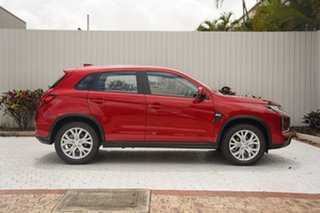 2021 Mitsubishi ASX XD MY21 ES 2WD Brilliant Red 1 Speed Constant Variable Wagon.
