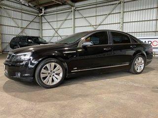 2007 Holden Caprice WM Black 6 Speed Sports Automatic Sedan.