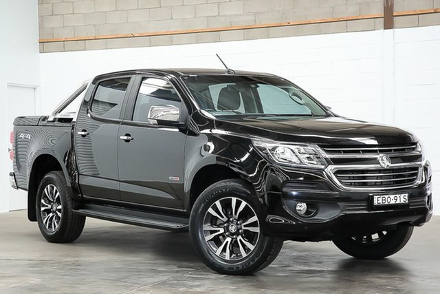 Used Holden Colorado RG MY19 LTZ Pickup Crew Cab Erina, 2018 Holden Colorado RG MY19 LTZ Pickup Crew Cab Black 6 Speed Sports Automatic Utility