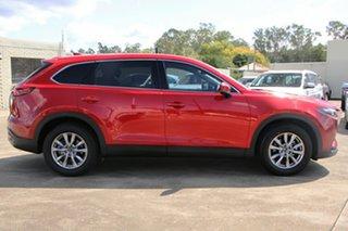 2017 Mazda CX-9 TC Touring SKYACTIV-Drive i-ACTIV AWD Red 6 Speed Sports Automatic Wagon.