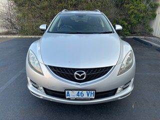 2009 Mazda 6 GH1051 MY09 Classic Silver 5 Speed Sports Automatic Wagon.