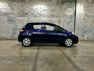 2020 Toyota Yaris NCP130R Ascent Blue 4 Speed Automatic Hatchback