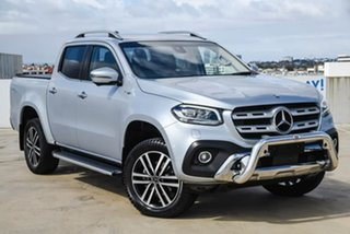 2018 Mercedes-Benz X-Class 470 X250d 4MATIC Power Silver 7 Speed Sports Automatic Utility.