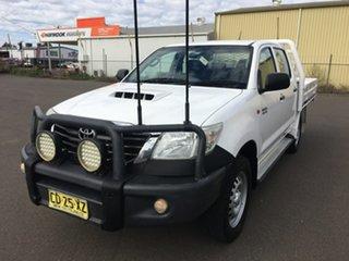2015 Toyota Hilux KUN26R SR White Manual.