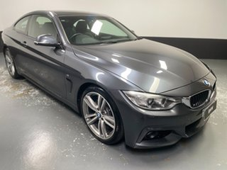 2014 BMW 4 Series F32 420d M Sport Mineral Grey 8 Speed Sports Automatic Coupe.