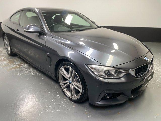 Used BMW 4 Series F32 420d M Sport Hamilton, 2014 BMW 4 Series F32 420d M Sport Mineral Grey 8 Speed Sports Automatic Coupe