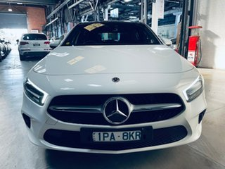 2019 Mercedes-Benz A-Class W177 800MY A250 DCT White 7 Speed Sports Automatic Dual Clutch Hatchback