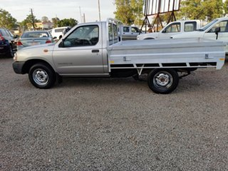 2003 Nissan Navara D22 MY2003 DX 4x2 Silver 5 Speed Manual Cab Chassis