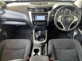 2017 Nissan Navara D23 S2 ST White/280217 6 Speed Manual Utility