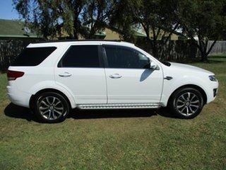 2015 Ford Territory SZ MkII Titanium Seq Sport Shift White 6 Speed Sports Automatic Wagon.