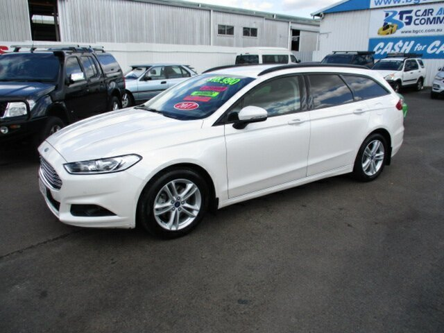 Used Ford Mondeo Woodridge, 2017 Ford Mondeo AMBIENTE White 6 Speed Automatic Wagon