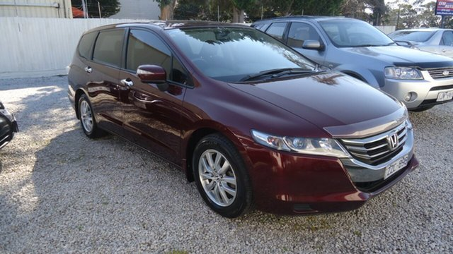 Used Honda Odyssey 4th Gen MY12 Seaford, 2012 Honda Odyssey 4th Gen MY12 Red 5 Speed Sports Automatic Wagon