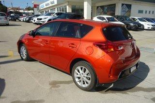2012 Toyota Corolla ZRE182R Ascent Sport Orange 6 Speed Manual Hatchback